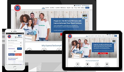 E-File Form 990-EZ To IRS | IRS Form 990-EZ Online